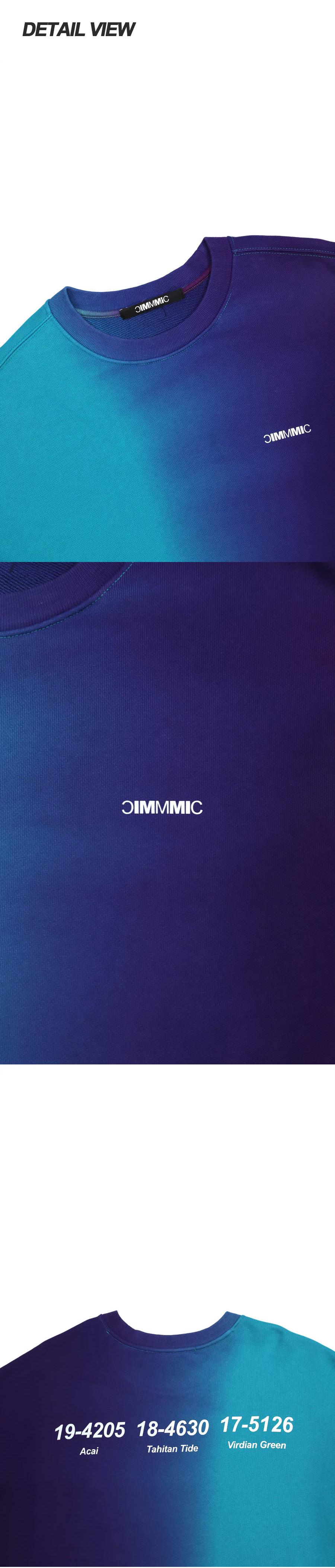 엠엠아이씨(MMIC) GRADIENT BASIC SWEATSHIRT